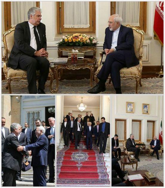 دیدار وزیر دارایی اتریش با ظریف