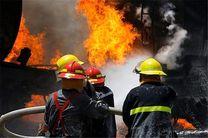 آتشسوزی یک انبار 400 متری در خیابان نظامآباد