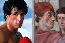 شباهت سیلوستر استالونه با نقاشی رافائل کشف شد