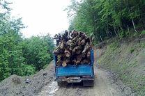 کشف 15 تن چوب قاچاق در سیاهکل