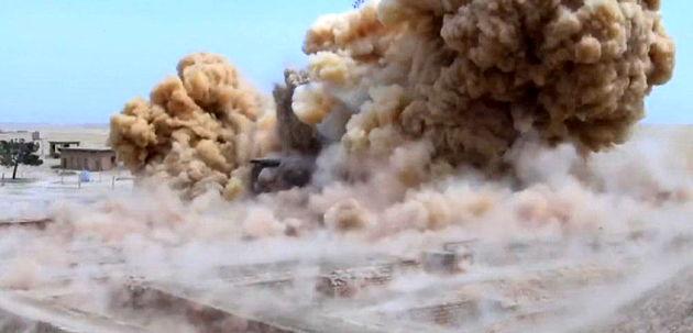 داعش معبد تاریخی «نابو» در شمال عراق را تخریب کرد
