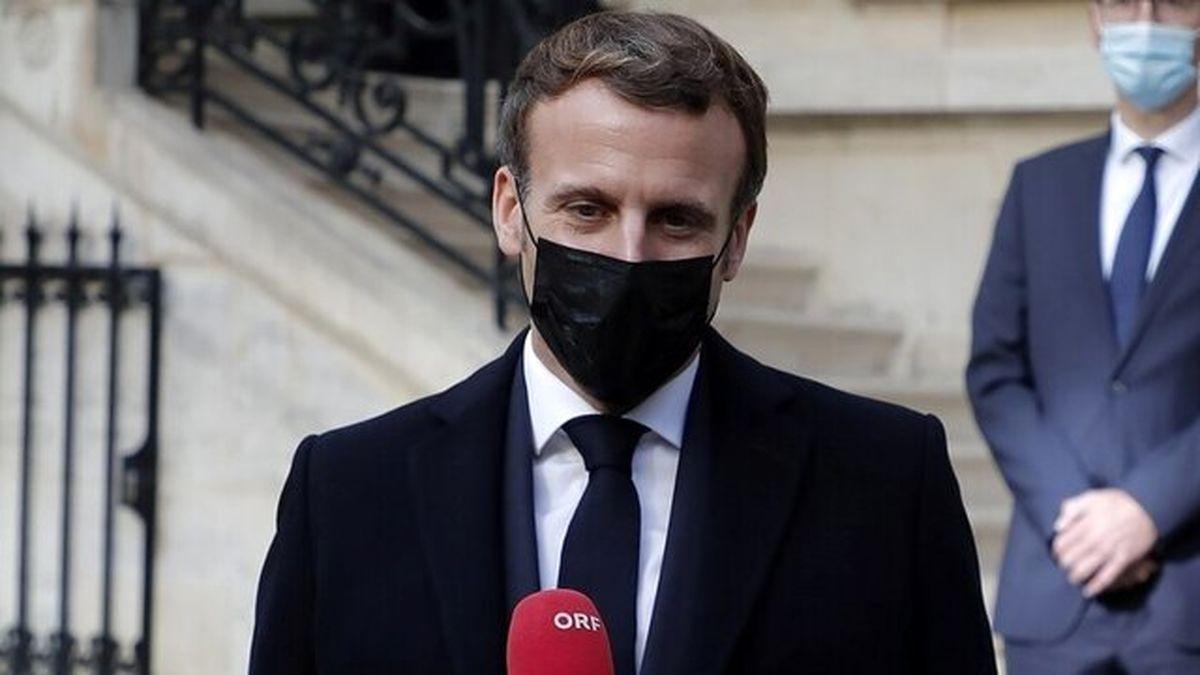 درخواست تلفنی رئیس جمهور فرانسه از روحانی درخصوص برجام