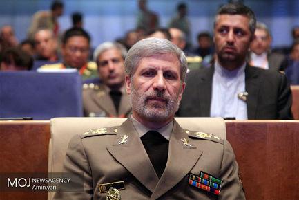 امیر سرتیپ امیر حاتمی وزیر دفاع و پشتیبانی نیروهای مسلح