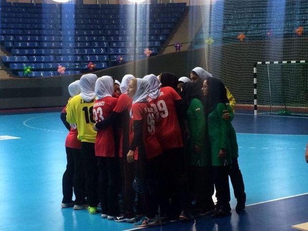 پیروزی نماینده هندبال زنان ایران در جام باشگاههای آسیا