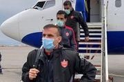 بازگشت کاروان تیم فوتبال پرسپولیس به ایران/  سرخپوشان به قرنطینه رفتند