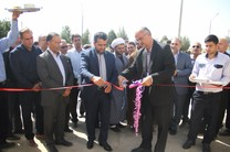 ساختمان اداره گاز محمد آباد جرقویه افتتاح شد
