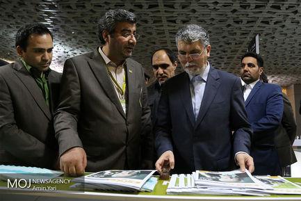 بازدید وزیر ارشاد از جشنواره سینما حقیقت
