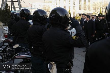 افتتاح اولین درزین پلیس راه آهن تهران